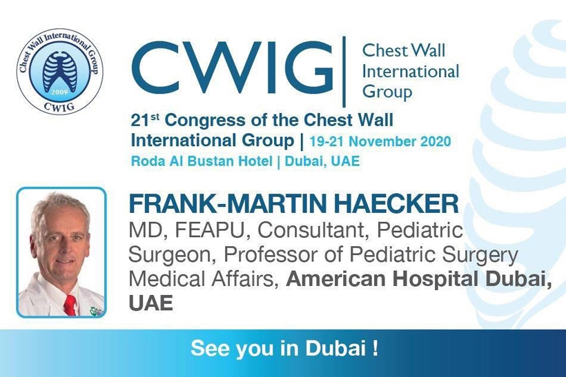 21st Annual Meeting of the Chest Wall International Group 2020 (CWIG 2020)
